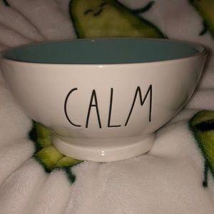 "Rae Dunn Bowl ""CALM"""
